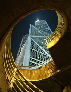 Bank of China Tower, Hongkong (367 meters)