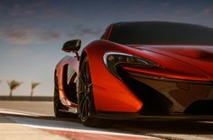Behold the McLaren P1 hybrid supercar