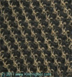 Coat Tweed - Knittingfool Stitch Detail