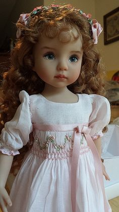 B.DIANNA EFFNER  I don't usually like dolls but the face on this one is so cute..beautiful in fact