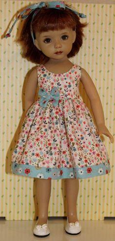 "Summer Days Meadow Flowers Fits 13"" Effner Little Darling Cream | eBay"