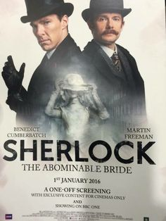 The Abominable Bride - 01 January 2016. Sherlock Christmas Special