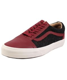 VANS Vans Old Skool Reissue Ca Round Toe Leather Fashion Sneakers'. #vans #shoes #sneakers