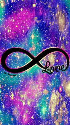 Love infinity galaxy wallpaper I created for the app CocoPPa.