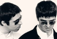 Noel and Liam Liam Gallagher Oasis, Noel Gallagher, Rock And Roll Bands, Rock N Roll, Oasis Music, Alan White, Oasis Band, Liam And Noel, Best Rock