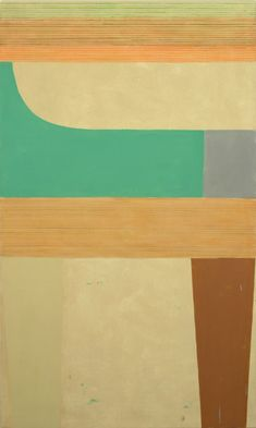 Elizabeth Gourlay Contemporary Printmaking, National Academy, Orange Grey, Mixed Media Canvas, Wood Paneling, Colored Pencils, Lettering, Abstract, Google