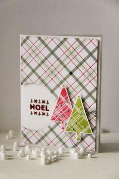 Mit dem Stempelset Freude zur Weihnachtszeit und dem Designerpapier Fröhliche…