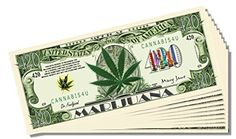 Marijuana 420 Novelty Dollar Bill - 10 Count with Bonus Clear Protector and Christopher Columbus Bill -- Check this awesome product by going to the link at the image.
