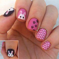 m1ssmar1e easter #nail #nails #nailart