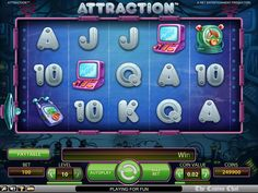 Attraction – NetEnt Game Review