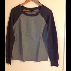 """DKNY Sweater✂️ Brand new, never worn DKNY sweater. Asymmetric Zip. Length about 24"""", pit to pit 20 1/2. DKNY Sweaters Crew & Scoop Necks"""