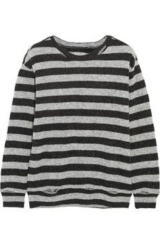 R13 Kate striped wool-blend sweater | NET-A-PORTER