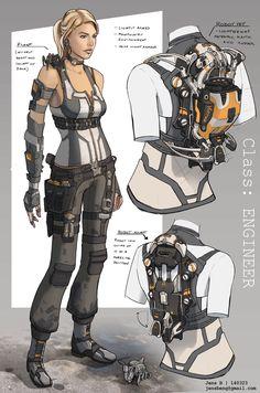 Class: Engineer by Rubisko on deviantART