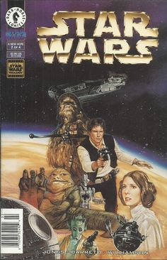 Star Wars A New Hope comic issue 2
