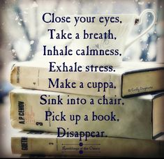 Disappear book club books, tea and books, i love books, my books, books t. Books And Tea, I Love Books, Good Books, Books To Read, My Books, The Words, Reading Quotes, Book Lovers, Book Worms