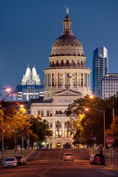 Home sweet home. Luckily, part of my daily view. <3 State Capitol, Austin, Texas, USA