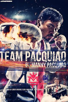 Amazing Manny Pacquiao Poster