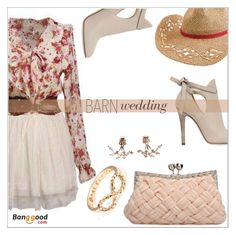 """Bangood.com"" by simona-altobelli ❤ liked on Polyvore featuring Quiksilver, Jimmy Choo, BangGood, polyvorecontest and barnwedding"