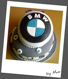 BMW cake | Marica | Flickr Bmw Cake, Fondant, Party Themes, Cake Decorating, Birthday Cake, Eat, Desserts, Grooms, Fun Stuff