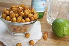 chile lime roasted chickpeas [This Chick Cooks]