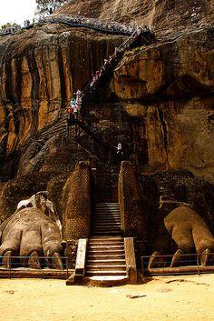 Lion Rock - Sigiriya, Sri Lanka