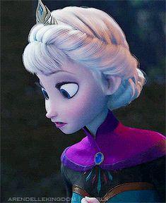 Frozen In Elsanna. Let It Go. — arendellekingdom:   ❝ Elsa! No! Wait! ❞