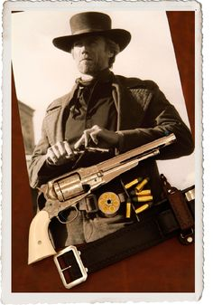 Clint Eastwood as Preacher in Pale Rider