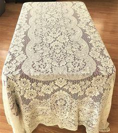 Inspirational Vinyl Lace Tablecloth