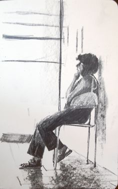 Moleskine #016 graphite pencil drawing