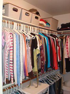 His & Hers Closet Organization