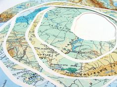 Map Collage: By Shannon Rankin.