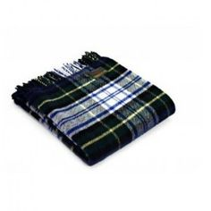 Dress GordonTartan Knee Rug in Pure New Wool . . Sold by TartanPlusTweed.com A family owned kilt and gift shop in the Scottish Borders