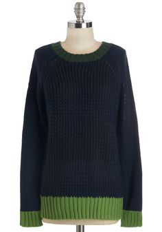 Chit Chat Charmer Sweater. Enjoy an afternoon gabbing with the gals in this cozy-casual sweater! #blue #modcloth
