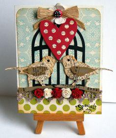Love birds - Two Peas in a Bucket