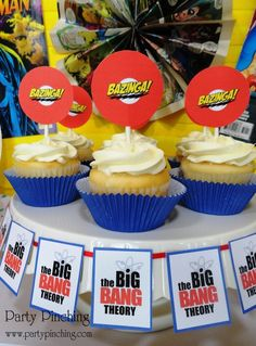 A Big Bang Theory party--should totally be my next party!