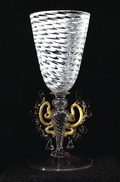 Venetian royal wine goblet