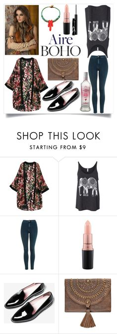 """""""Untitled #253"""" by voicu-ana ❤ liked on Polyvore featuring Behance, Topshop, MAC Cosmetics and Patricia Nash"""