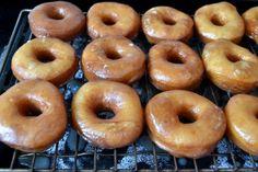 Eggless Krispy Kreme Donuts...oh yum!