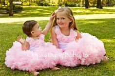 Oopsy Daisy Baby Pink Pettiskirt