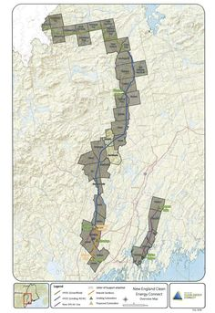 CMP Transmission Line Proposal: A Bad Deal for Maine Electric Utility, Transmission Line, Corridor, Proposal, Maine, Vintage World Maps, Science