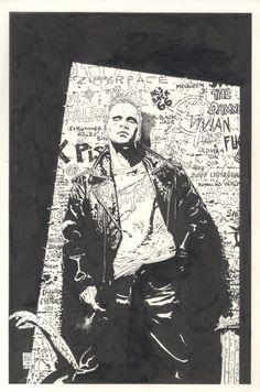 Hellblazer #162 Cover by Tim Bradstreet Comic Art