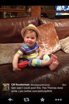 Clif's tweet about Thomas :)