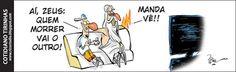 Rico studio / charges . ilustrações . cartuns . quadrinhos: Cotidiano Tirinhas