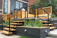 1000 images about escalier ext rieur on pinterest - Rampe d escalier exterieur ...