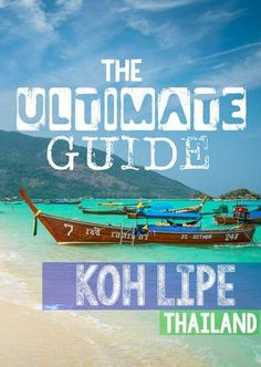 "Koh Lipe Thailand Guide, Koh Lipe Thailand also known as ""The Maldives of…"