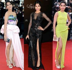 Here is an exclusive image of Freida Pinto from Cannes 2012