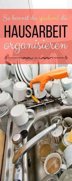 27 Checklisten druckfertig: Das grosse Putzpaket. So kannst du die Hausarbeit auf viele Schultern verteilen.
