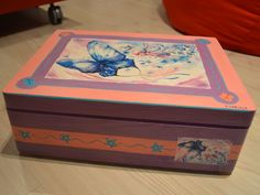 Wooden box for a little lady!