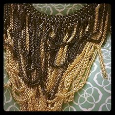 Kendra Scott Margot Necklace Gold and Gunmetal Kendra Scott Jewelry Necklaces