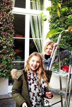 with Lila, December 2013 (via @annabelleneilson1 instagram)